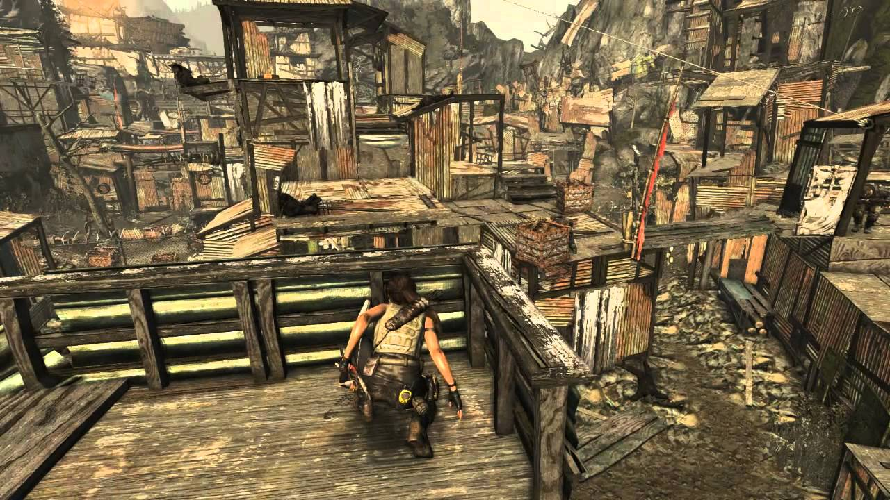 "Image result for Shanty Town ""Tomb Raider"