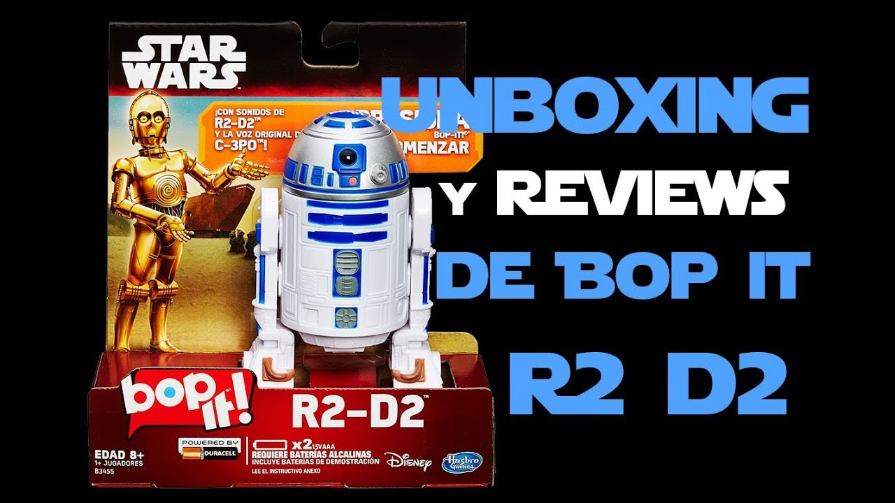 Unboxing Del Juego Bop It R2 D2 De Hasbro Youtube