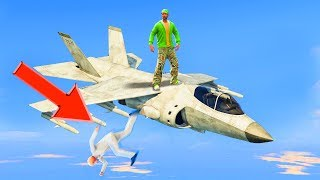NEW JET RODEO CHALLENGE! (GTA 5 Funny Moments)