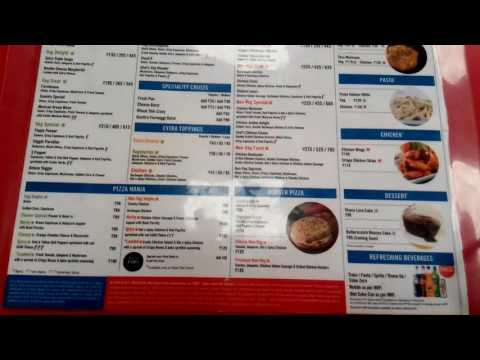 Domino's Pizza in Jubilee Hills, Hyderabad-Menu | Yellowpages.in | India