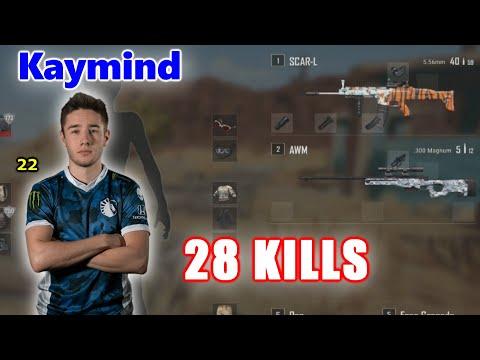 Team Liquid Kaymind \u0026 Drassel - 28 KILLS - AWM+SCAR - DUO vs SQUADS - PUBG