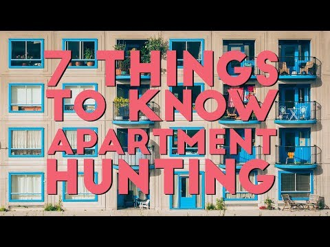 DO THESE 7 THINGS WHILE LOOKING AT APARTMENTS   Apartment Hunting 101