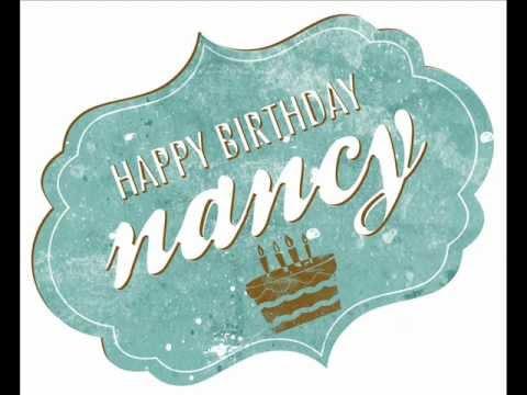 happy birthday nancy youtube