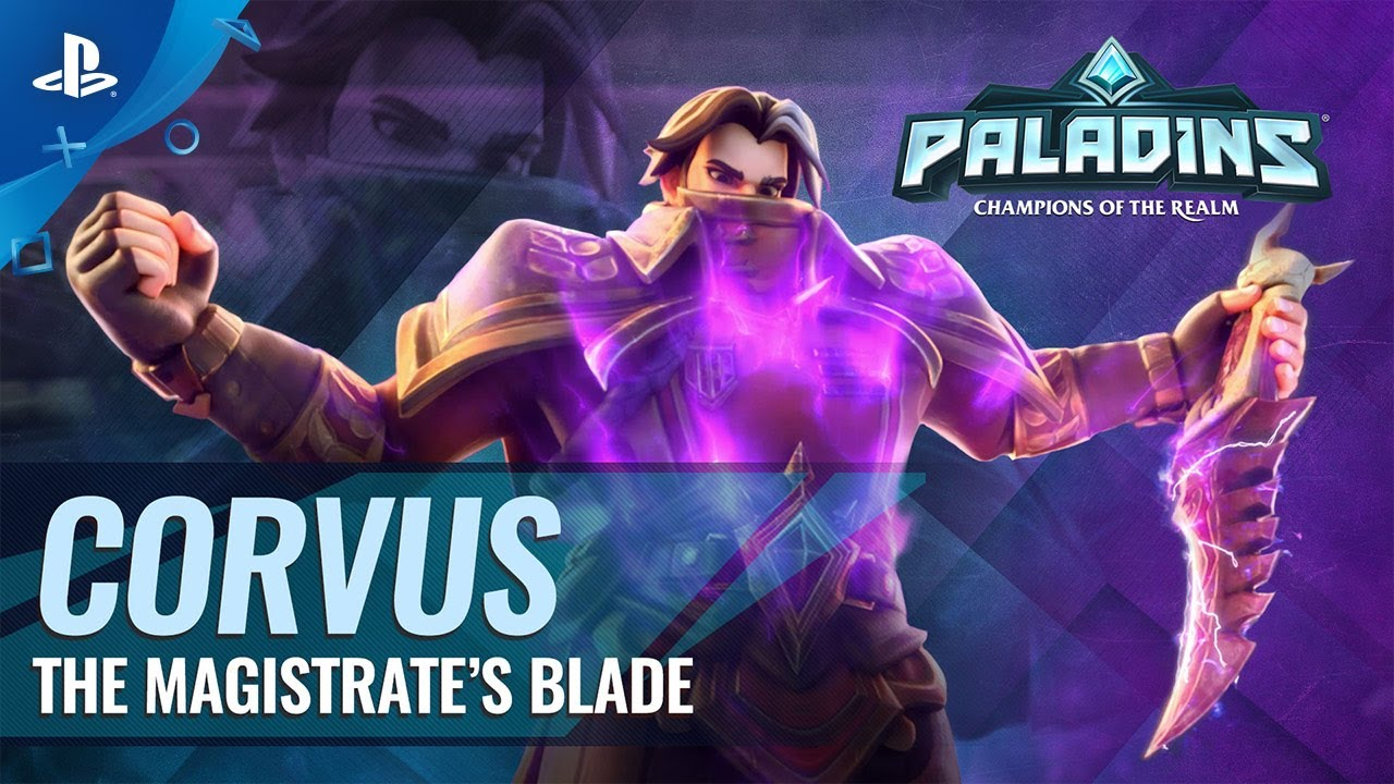 Paladins - Corvus Reveal Trailer | PS4