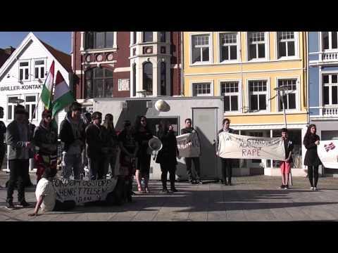 Veman Linevai Demonstrasjon mot det iranske regimet Bergen, Norge 15.mai 2015