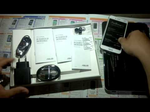 Unboxing asus padfone s white indonesia