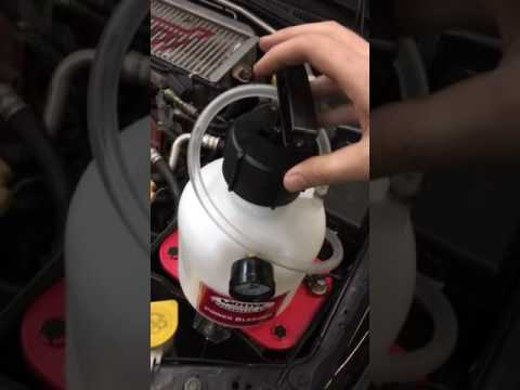 How to Bleed Subaru WRX STi brakes with Motive Power Bleeder