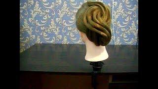 Причёска для бальных танцев  №3