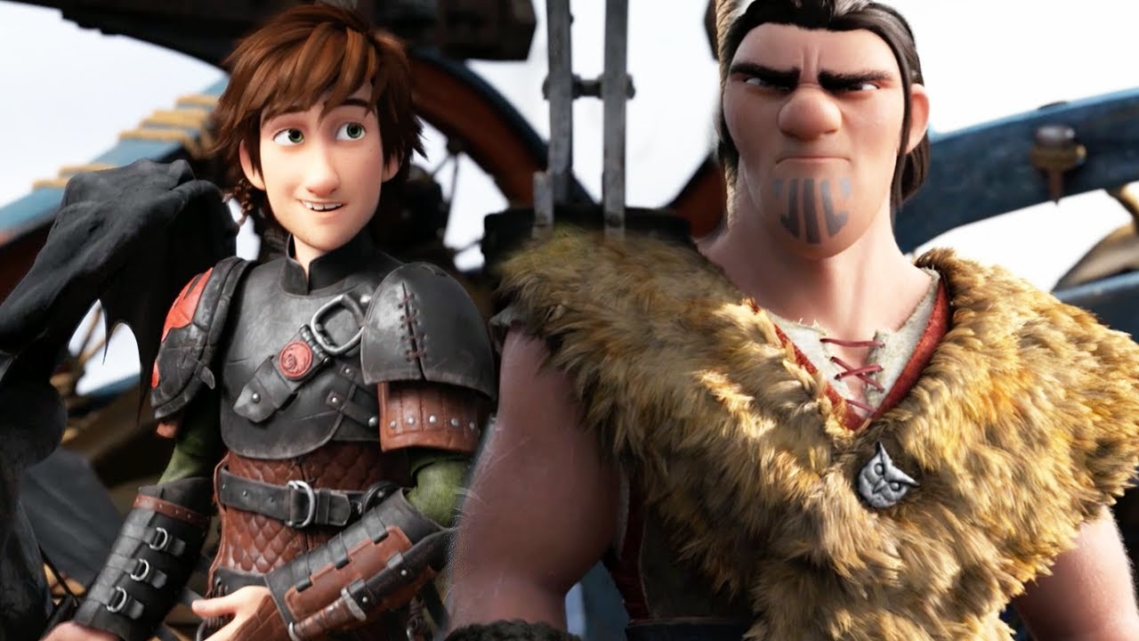 How To Train Your Dragon 2 Son Of Eret Official Clip Youtube