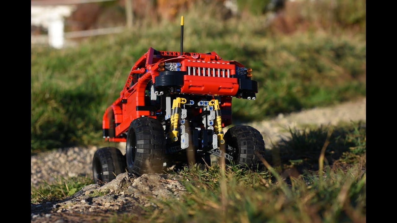 lego technic pickup truck instructions