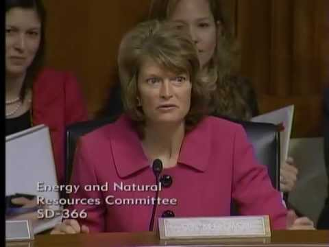 Senator Murkowski on the Importance of Hydropower in the Senate Energy Committee