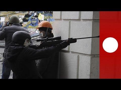 Sniper fire brings