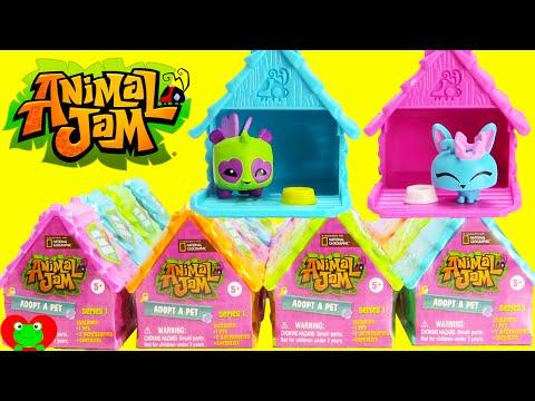 Animal Jam Surprise Blind Bag Package Opening Plush
