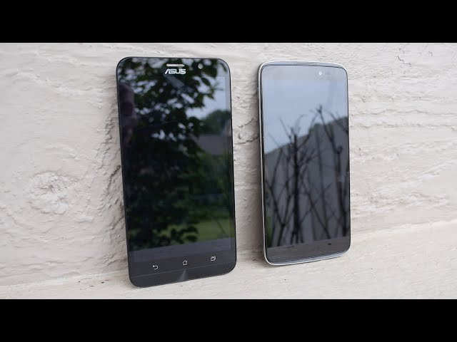 Alcatel OneTouch Idol 3 vs  ASUS Zenfone 2 comparison (video