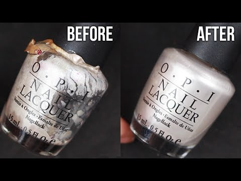 HOW TO RESTORE OLD NAIL POLISH (Nail Polish 101) || KELLI MARISSA
