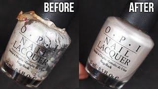 HOW TO RESTORE OLD NAIL POLISH (Nail Polish 101) || KELLI MARISSA