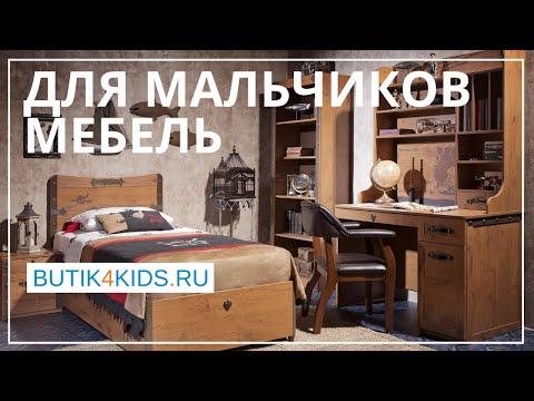 Мебель для мальчиков от 3 до 17 лет. Детские комнаты.