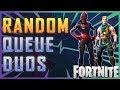 Fortnite - Random Queue Duos! - May 2018 | DrLupo