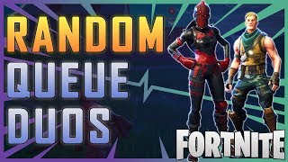Fortnite - Random Queue Duos! - May 2018 | DrLupo