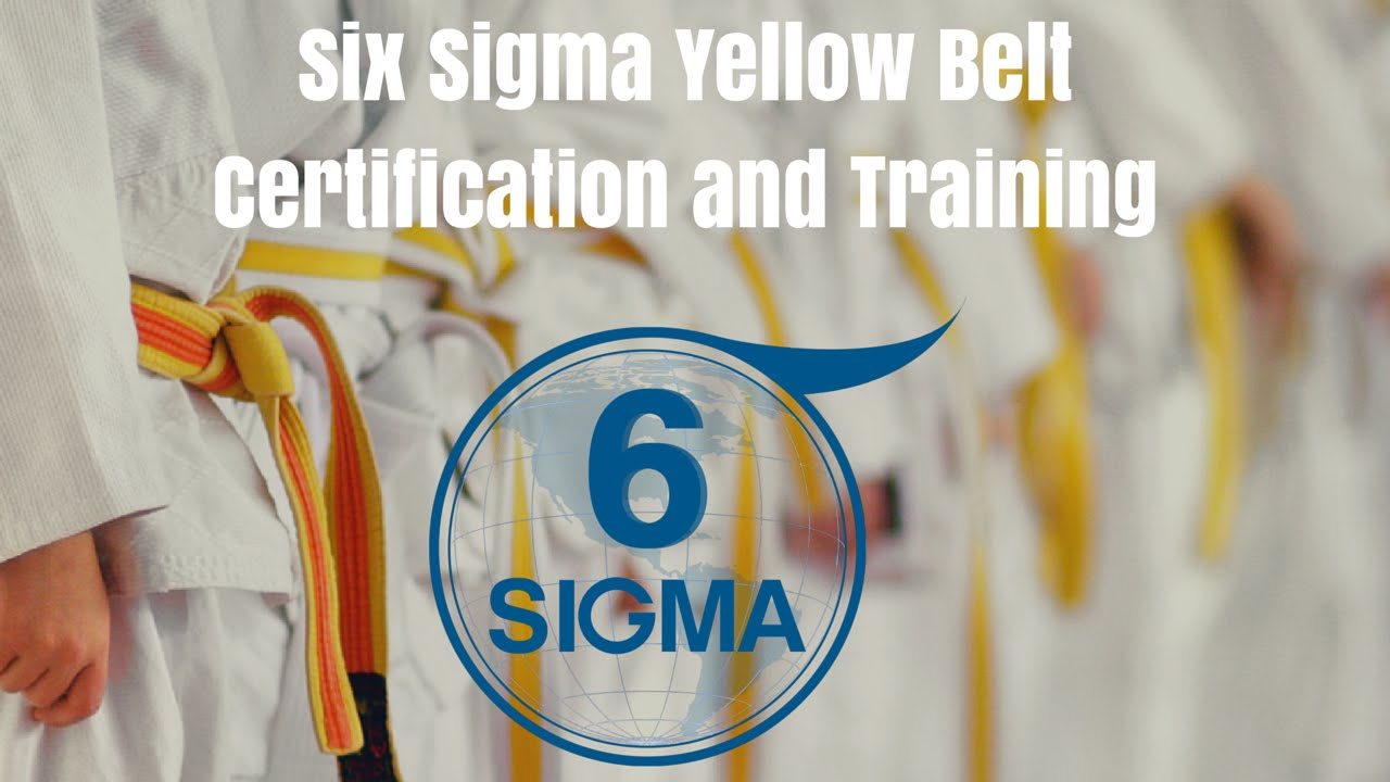 Six sigma yellow belt training courses and six sigma yellow belt six sigma yellow belt training courses and six sigma yellow belt certification xflitez Images