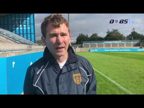 Na Fianna manager Niall Ó Ceallacháin speaks to Dubs TV after QF victory over Faughs