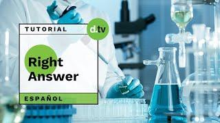 DOTLIB - Right Answer (Español) - Tutorial