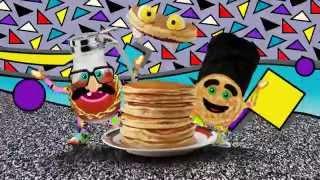 Yo Gabba Gabba / Pancakes and Syrup - Biz Markie Feat MC Pancake & DJ Syrup