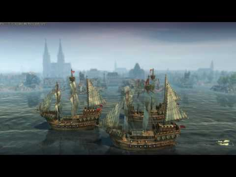 Anno 1404 Busy Ocidental Harbour