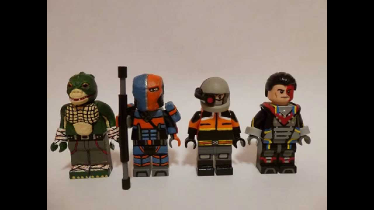 Lego batman arkham origins minifigures