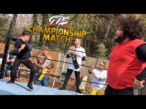 UNBELIEVABLE ENDING TO INSANE GTS WRESTLING CHAMPIONSHIP MATCH!