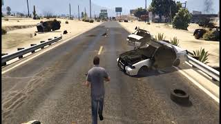 GTA V Extreme Fight With Police