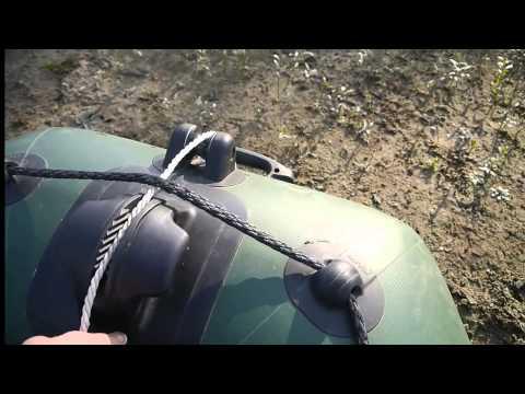 Якорь для надувашки  Часть 2  Система сброса и подъема. Anchor for inflatable boats