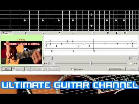[Guitar Solo Tab] Jet Lag (Simple Plan)