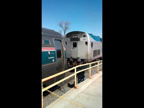 Amtrak engine change