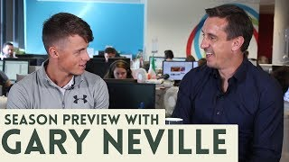 Gary Neville on Liam Miller, Roy Keane versus Ian Wright, the new season and much more