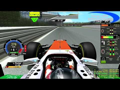 rF1-Simracing.eu - OnBoard German Grand Prix