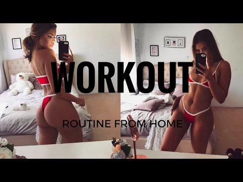 AT HOME WORKOUT ROUTINE- GRACIE PISCOPO