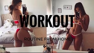 One of Gracie Piscopo's most viewed videos: AT HOME WORKOUT ROUTINE- GRACIE PISCOPO