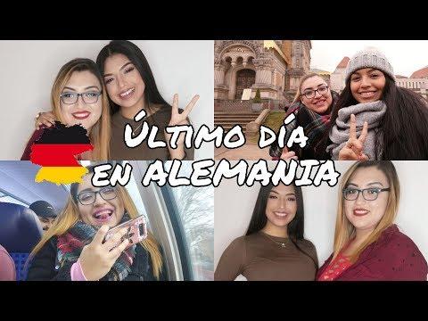 Vlog 2 Darmstadt miniTour+ ÚLTIMO DÍA EN ALEMANIA! LATINA EN ALEMANIA   Antoinette Diem