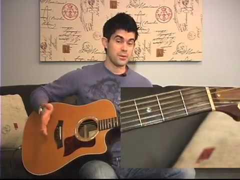 10000 Reasons Intro Guitar Lesson Matt Redman Youtube