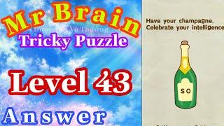 《Mr Brain Level 43》Update Answers Walkthrough Solution 2020 / Cập Nhật Đáp Án Game Mr Brain Level 43