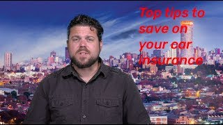 Top tips to save on your car insurance