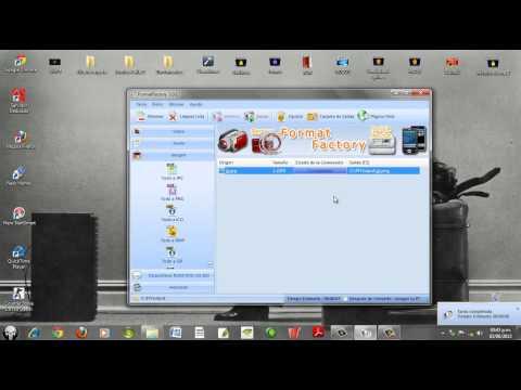 Como Convertir archivos AVI MP4 FLV WMA PNG JPG GIF MP3 Con FormatFactory 2015