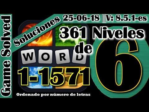Soluciones De 6 Letras Niveles 1 A 961 4 Fotos 1 Palabra Ver