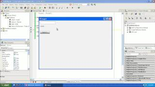 Learning to program Delphi tutorial 1 -  Hello World - Pascal - Rad Studio XE2