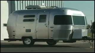 RV Road Test Video - Airstream Bambi Travel Trailer by Ashley Gracile Distant Roads