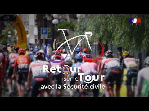 #TDF2020 : Retour sur le Tour avec la Sécurité civile !