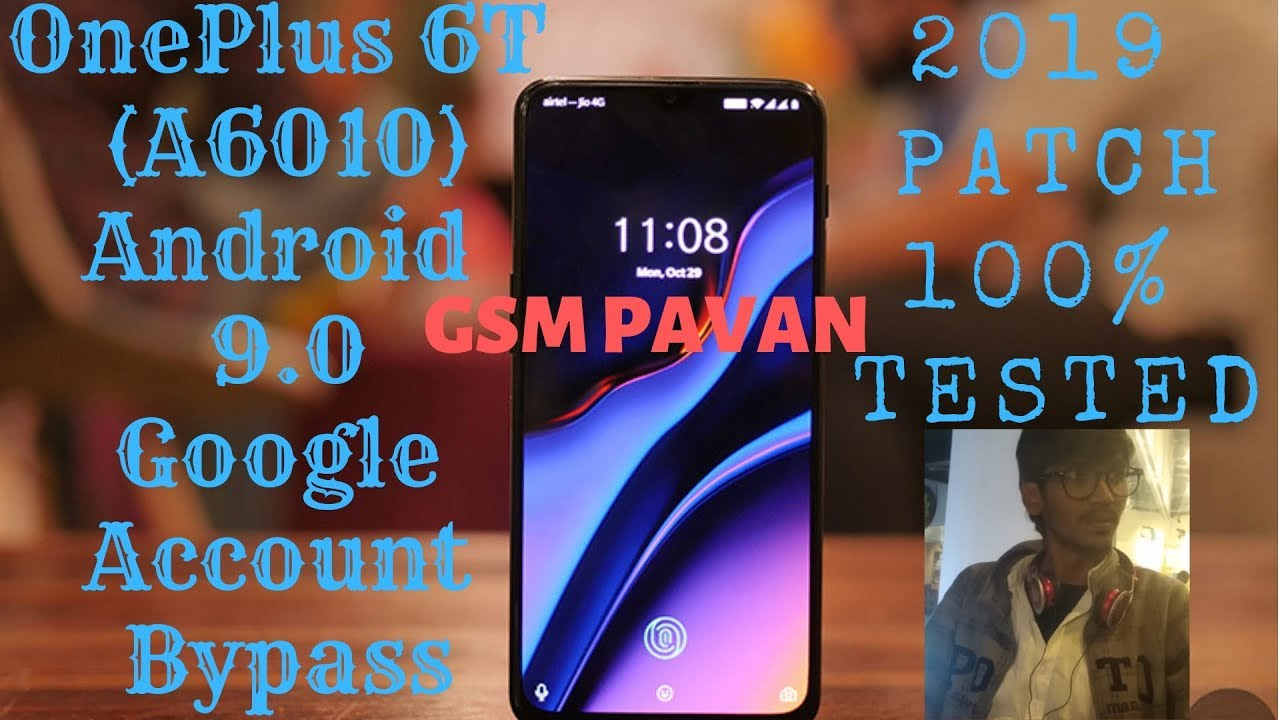 OnePlus 6t (A6010) google account bypass android 9 0 | BY GSM PAVAN