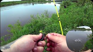 ЛОВЛЯ ЩУКИ НА ПОПЛАВОК С БЕРЕГА рыбалка на живца 2 вида оснастки