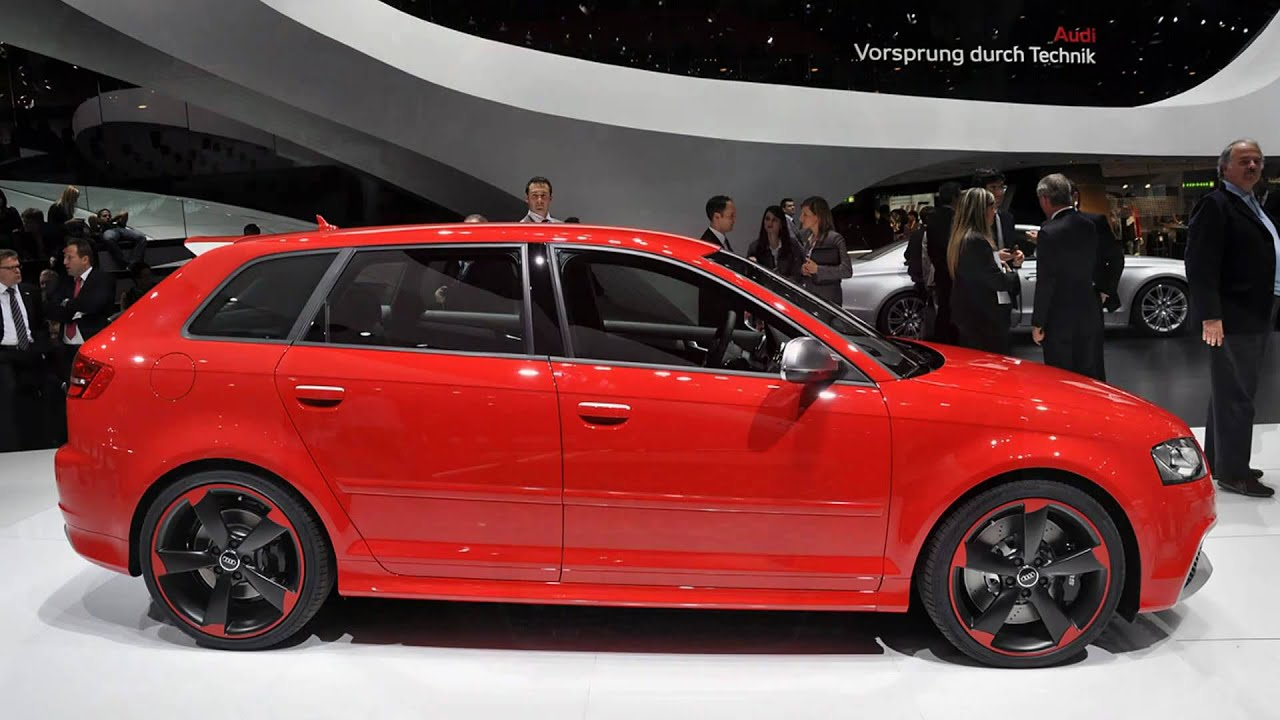 2012 audi rs3 sportback 2011 geneva auto show youtube. Black Bedroom Furniture Sets. Home Design Ideas